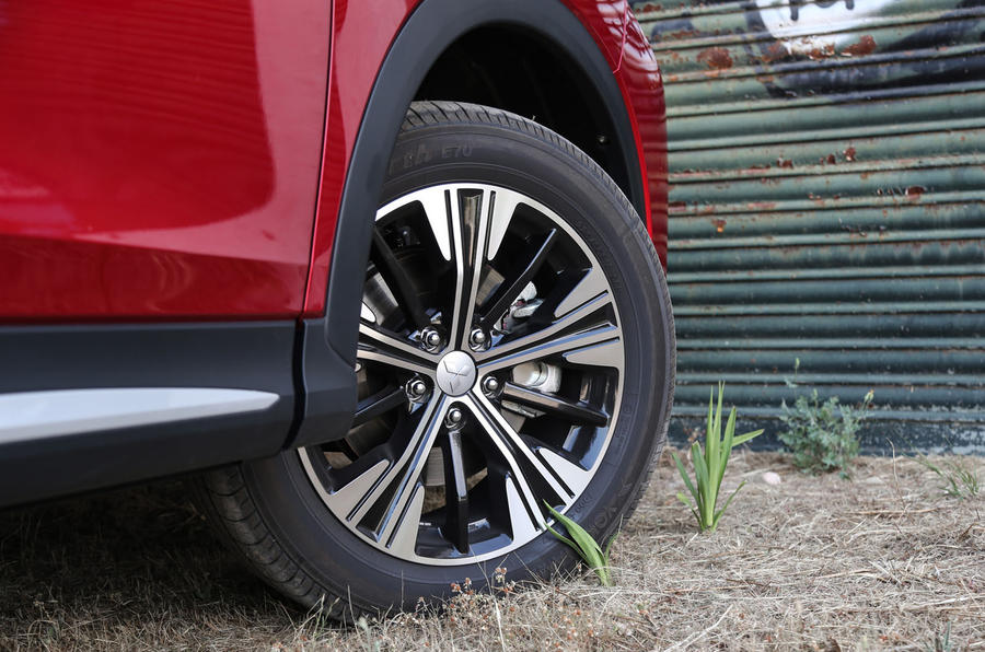 Mitsubishi Eclipse Cross alloy wheels