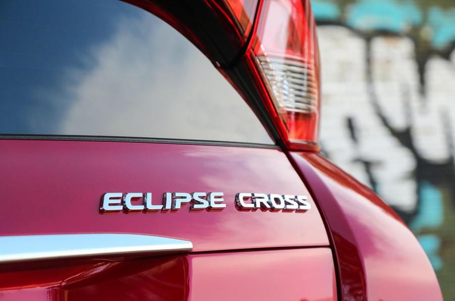 Mitsubishi Eclipse Cross badging