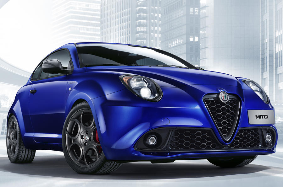 Facelifted Alfa Romeo Mito launched