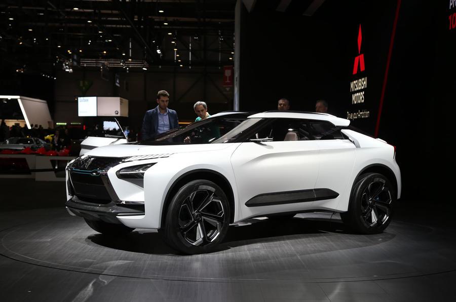 Evo Name Returns On Mitsubishi E Evolution Suv Concept Autocar