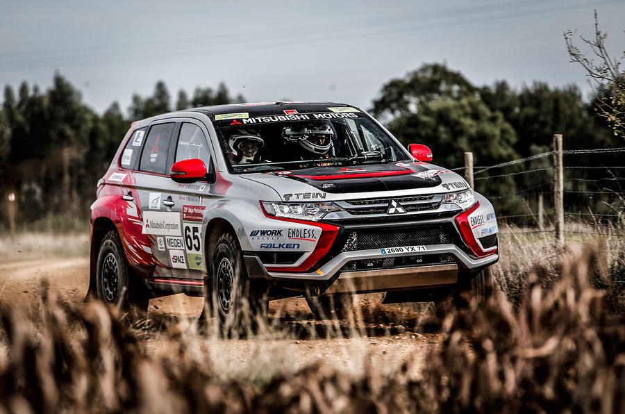 how to go rallying in a mitsubishi outlander phev autocar. Black Bedroom Furniture Sets. Home Design Ideas