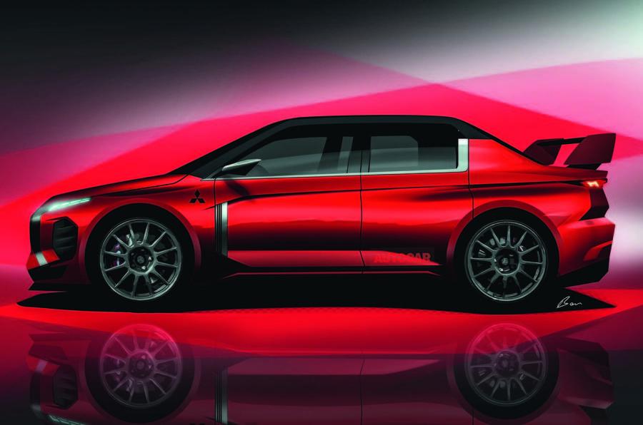 Mitsubishi Lancer Evolution XI Autocar render