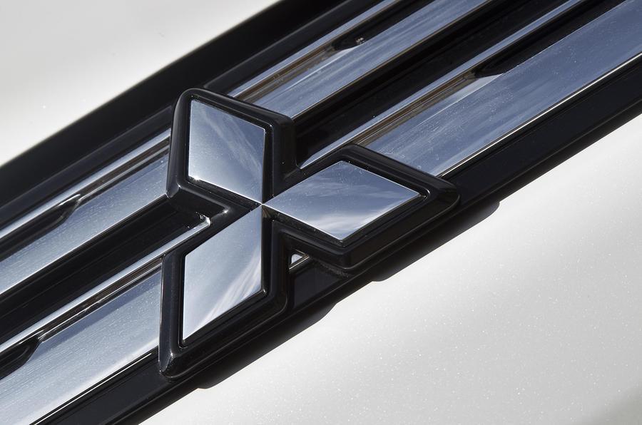 Mitsubishi emissions test