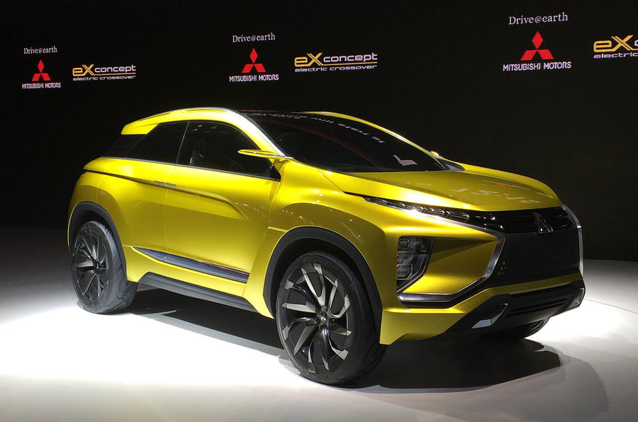 mitsubishi ex concept to launch by 2020 autocar