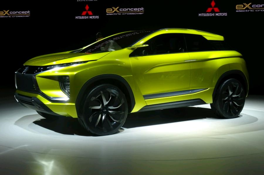 mitsubishi ex concept to launch by 2020 autocar. Black Bedroom Furniture Sets. Home Design Ideas