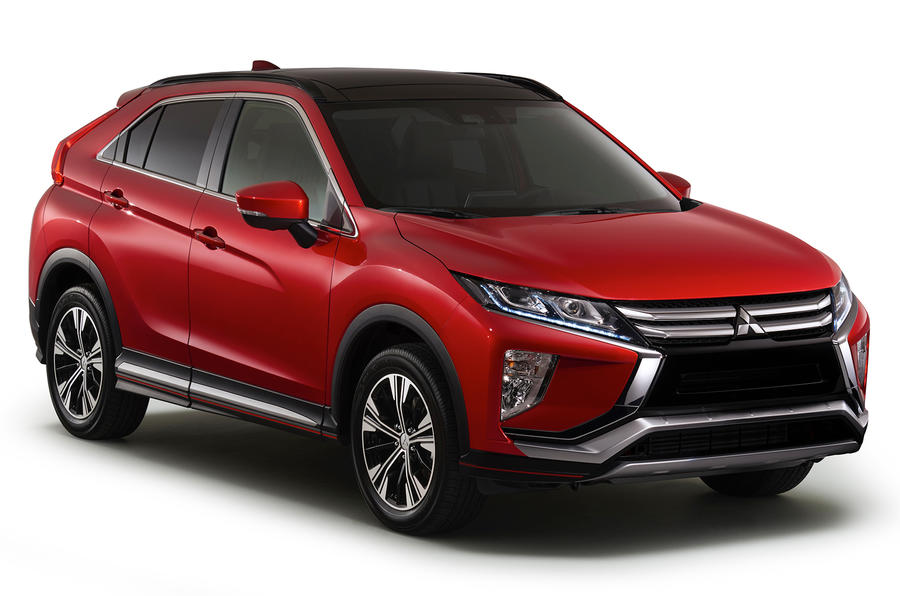 new mitsubishi eclipse cross suv revealed autocar. Black Bedroom Furniture Sets. Home Design Ideas