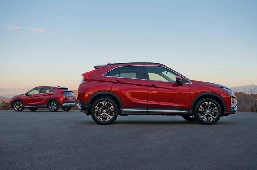 New Mitsubishi Eclipse Cross SUV costs from £21,275 | Autocar