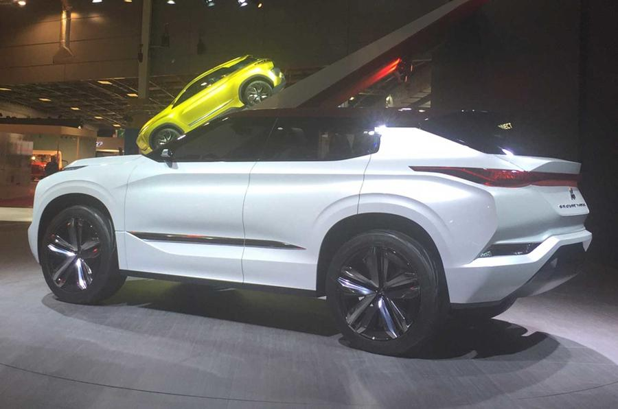 Mitsubishi Gt Phev Concept Revealed Autocar