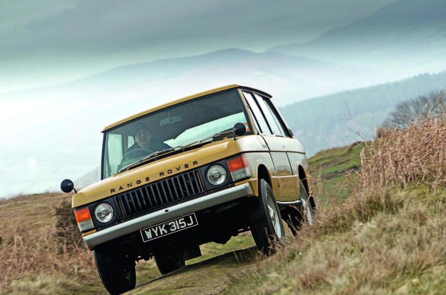 A 1970s Mk1 Range Rover