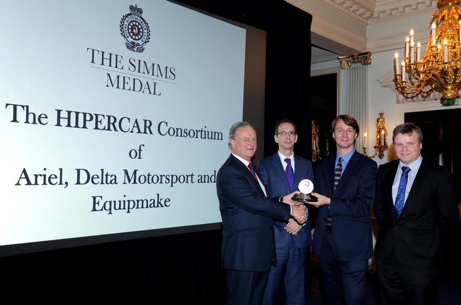 Hipercar consortium Simms Trophy
