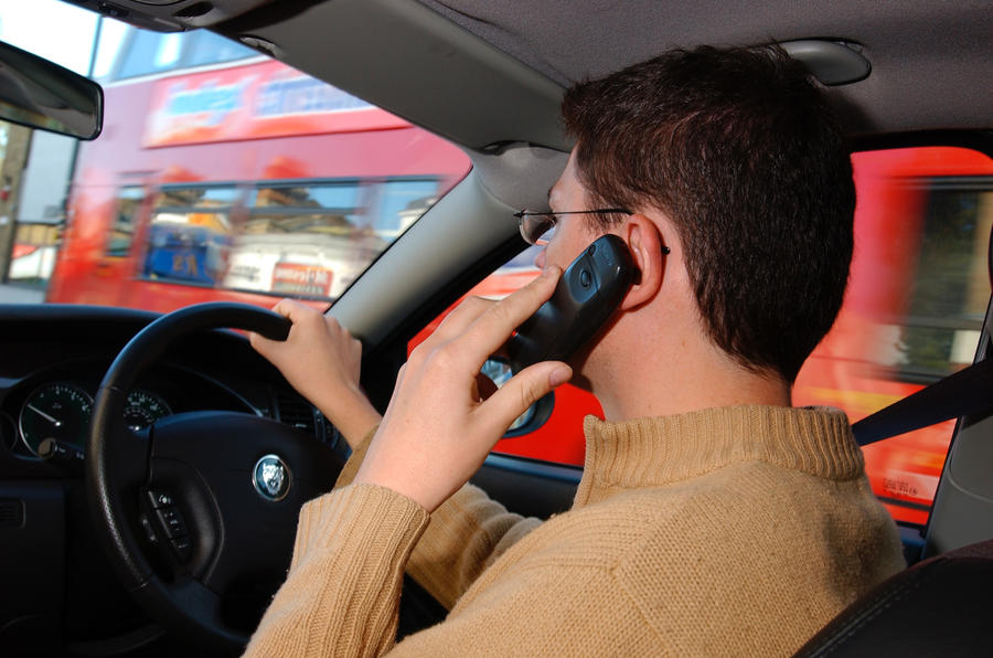 The Number Of Brits Using Their Mobiles While Driving Has Soared