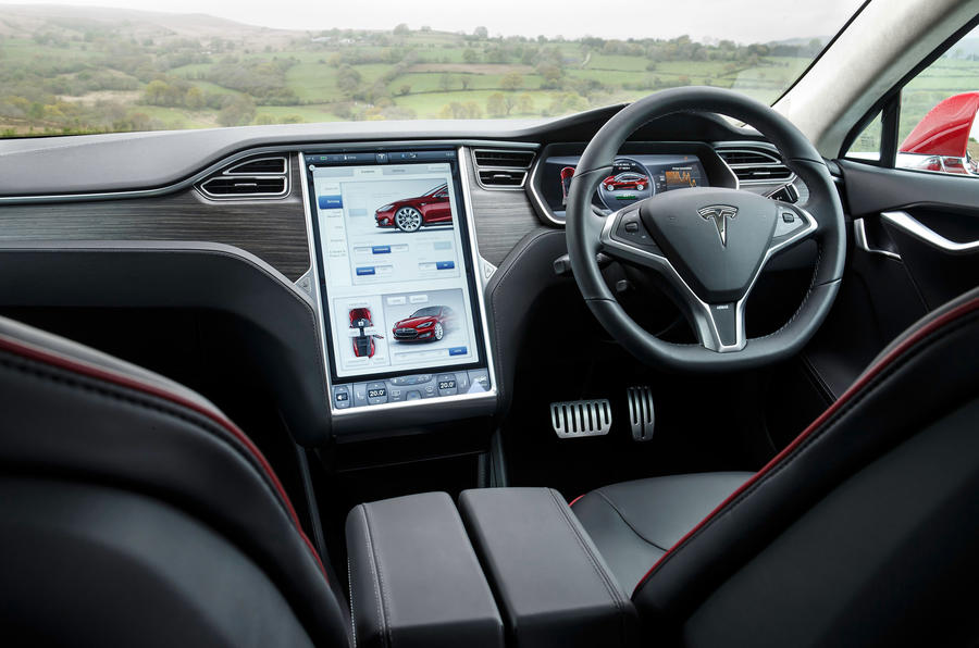 Tesla Model S 7.0 dashboard