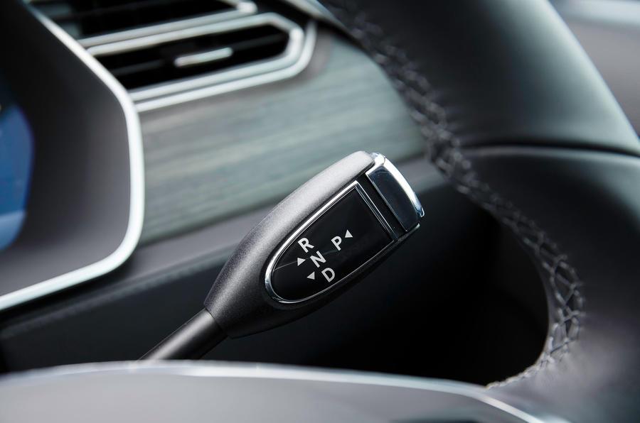 Tesla Model S 7.0 automatic gearbox