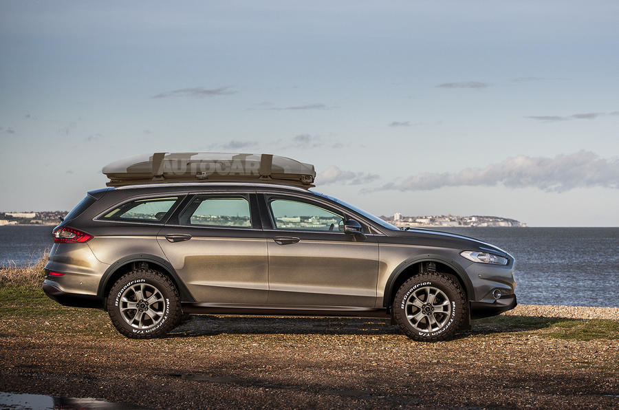 Mondeo Allroad imagined by Autocar