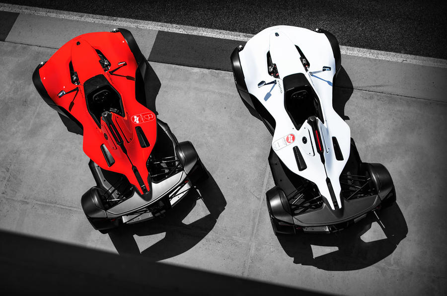 2020 BAC Mono One - red and white above