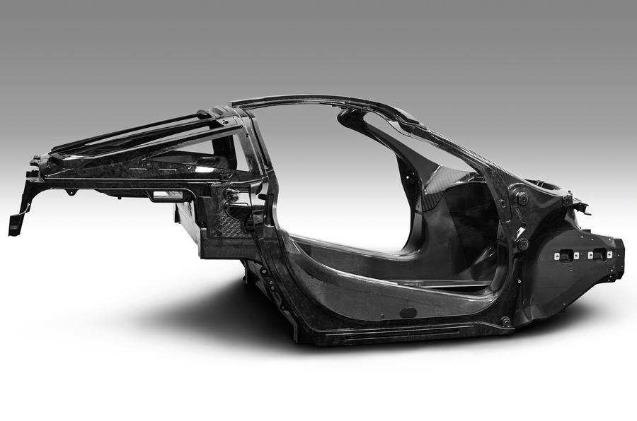 McLaren 650S successor carbon tub revealed ahead of Geneva