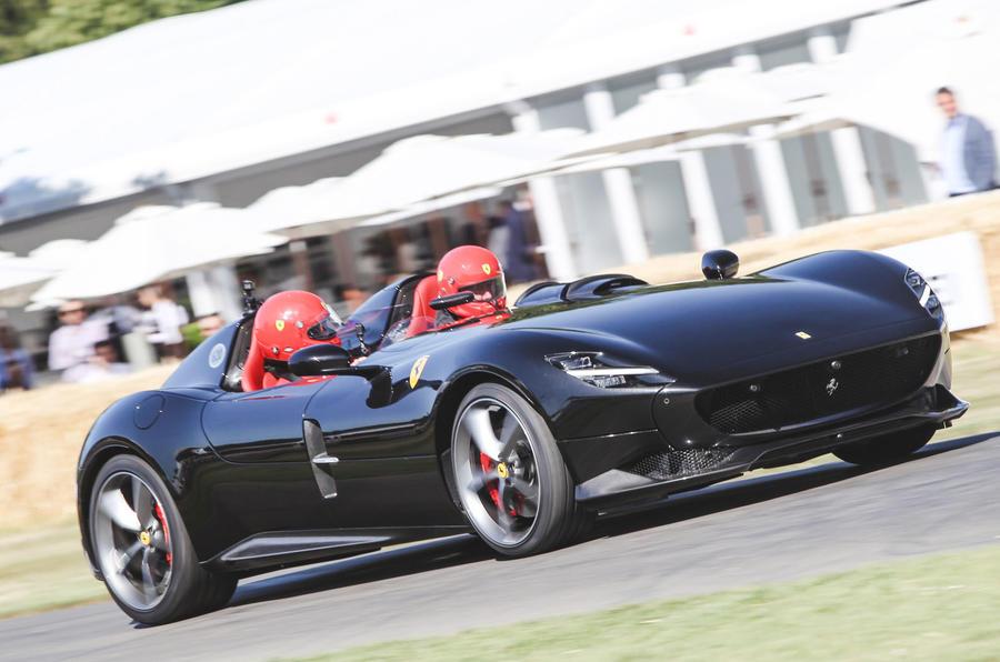 Ferrari Monza SP2 at Goodwood