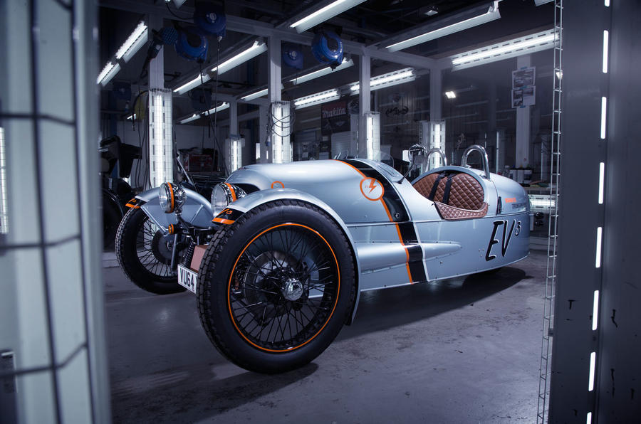 Electric EV3 blends the latest tech with Morgan's retro charm
