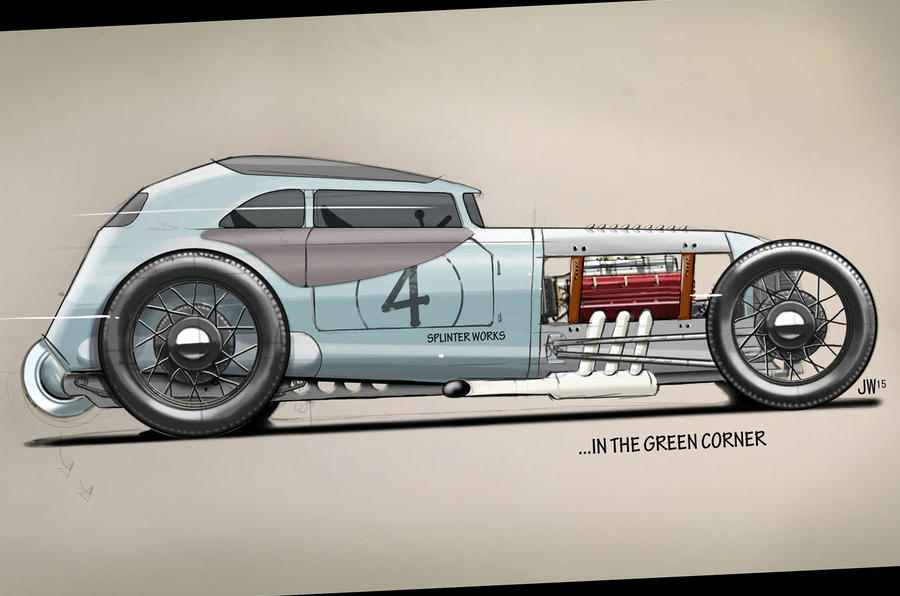 Mog Rod was just for fun but was a big hit with Morgan fans