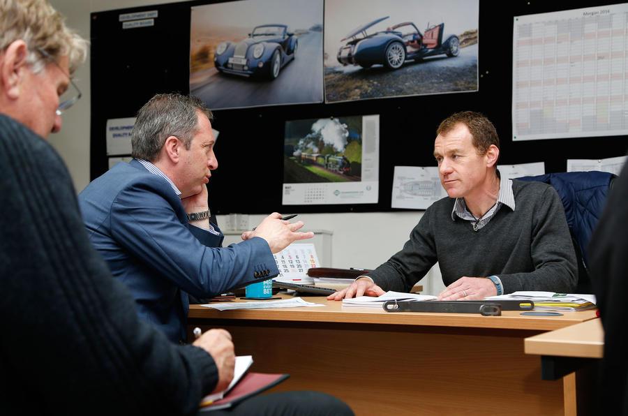 A day with Morgan boss Steve Morris
