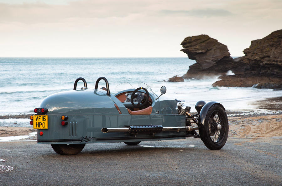Morgan 3 Wheeler long-term test review: heading off-road