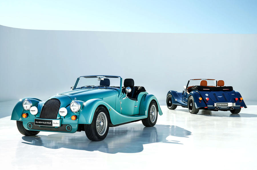 2020 Morgan Plus Four - front and rear