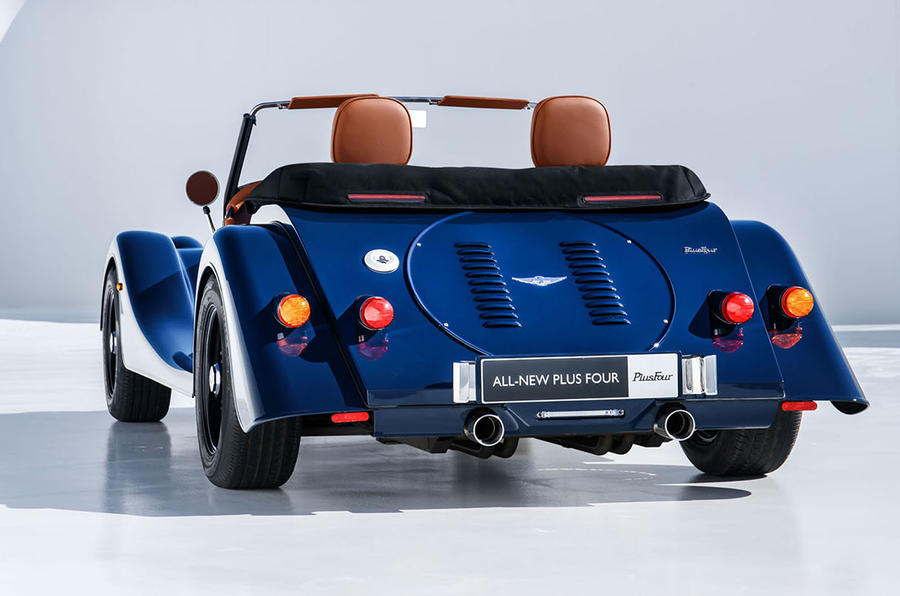 2020 Morgan Plus Four - static rear