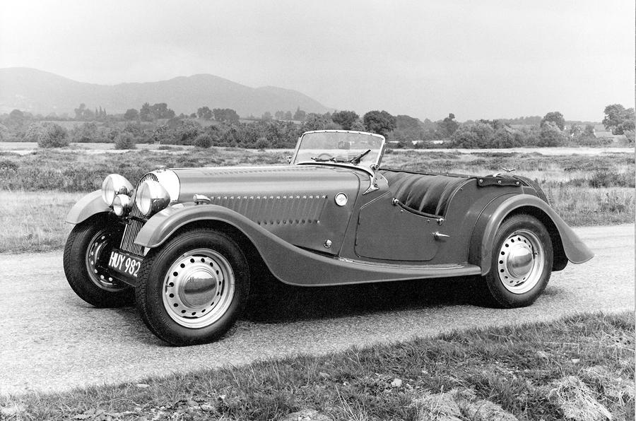 1950 Morgan Plus 4 prototype