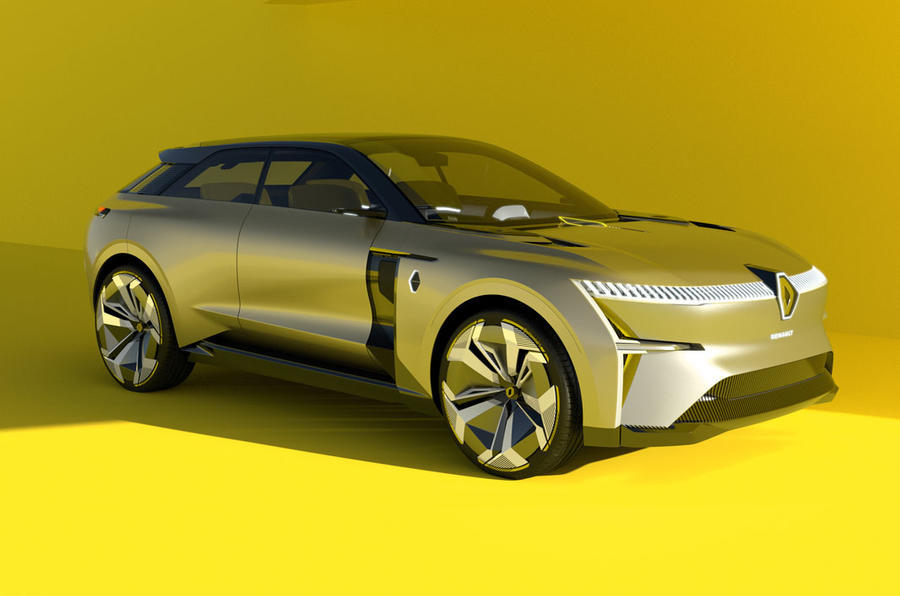 2020 Renault Morphoz concept - static front