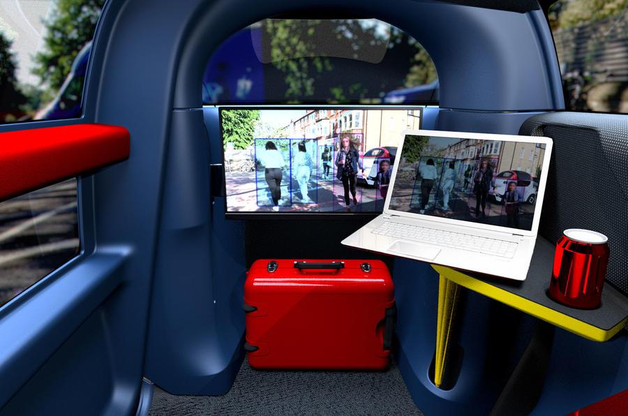 2020 Gordon Murray Design Motiv - interior