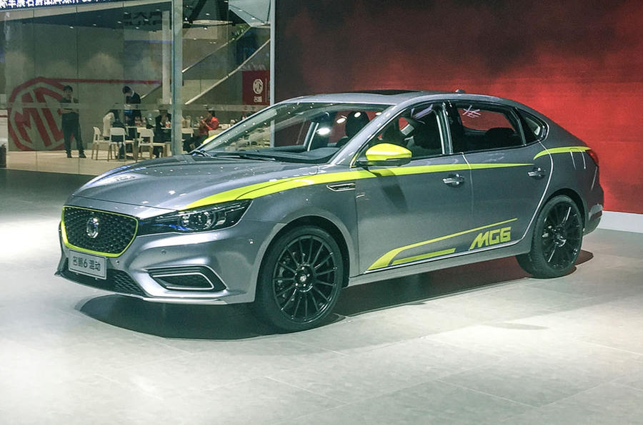 new mg 6 revealed for chinese market ahead of 2018 uk launch