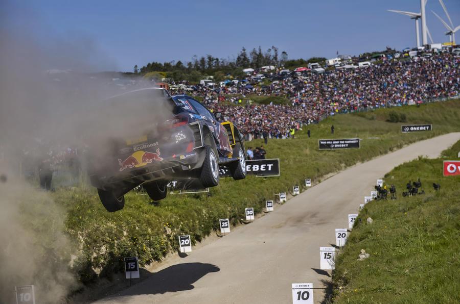 Sebastien Ogier Rally Portugal 2017