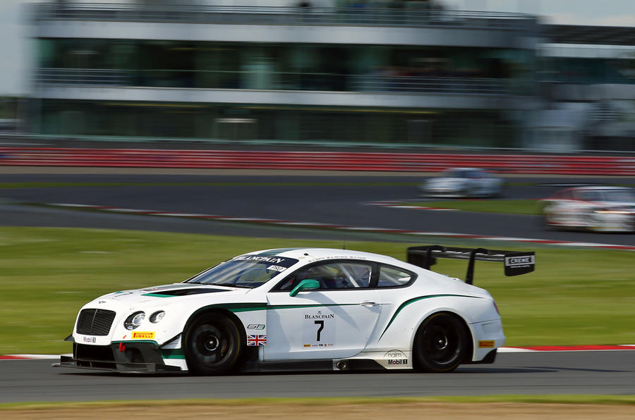 Bentley GT3-R racer