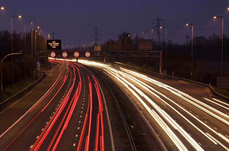 Motorway speeders 100mph