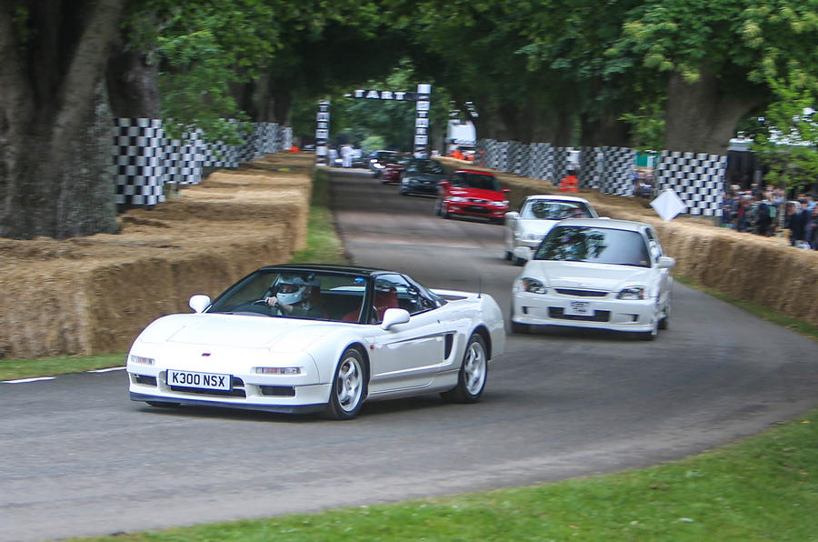 driving the iconic honda nsx r at goodwood autocar. Black Bedroom Furniture Sets. Home Design Ideas