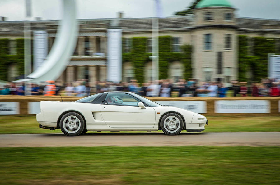 Driving the iconic Honda NSX R at Goodwood