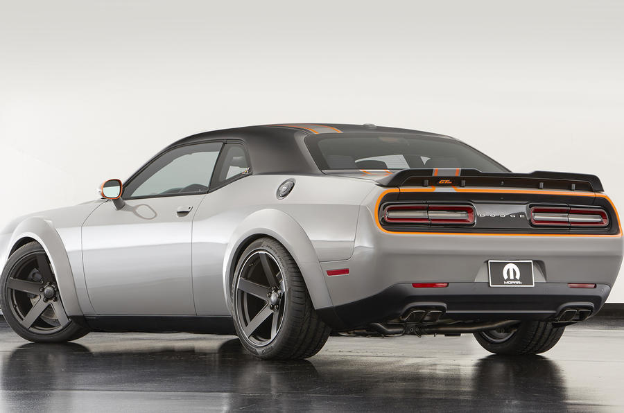 Fiat Las Vegas >> All-wheel-drive Dodge Challenger muscle car created for ...