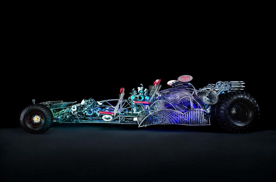 Henry Chang's car-based sculptures
