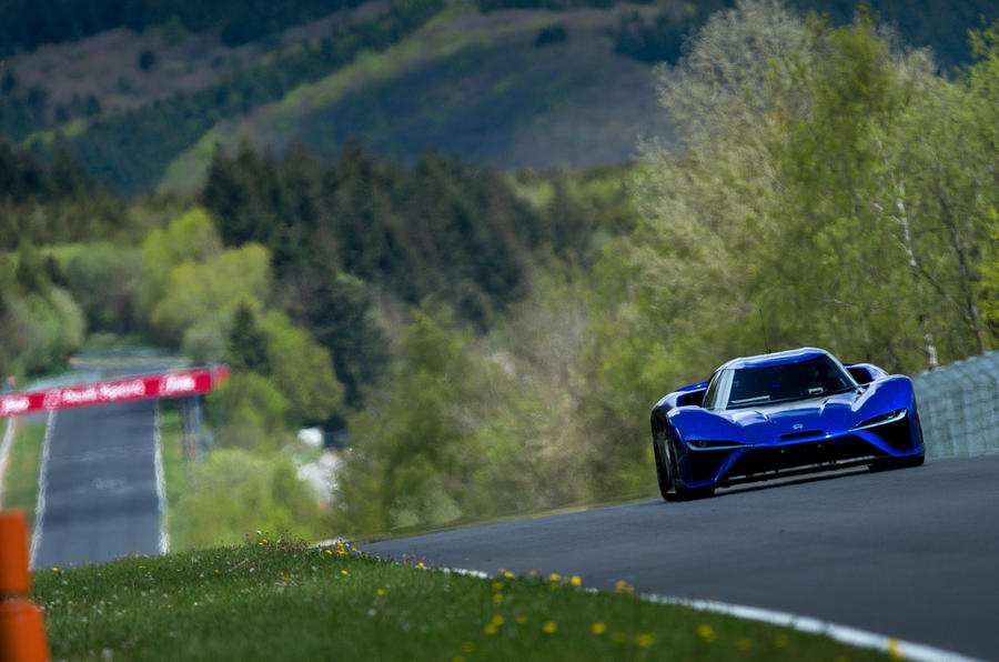 Nio EP9 new road-legal Nurburgring lap record holder