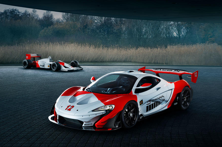 McLaren launches Senna edition P1 vehicle