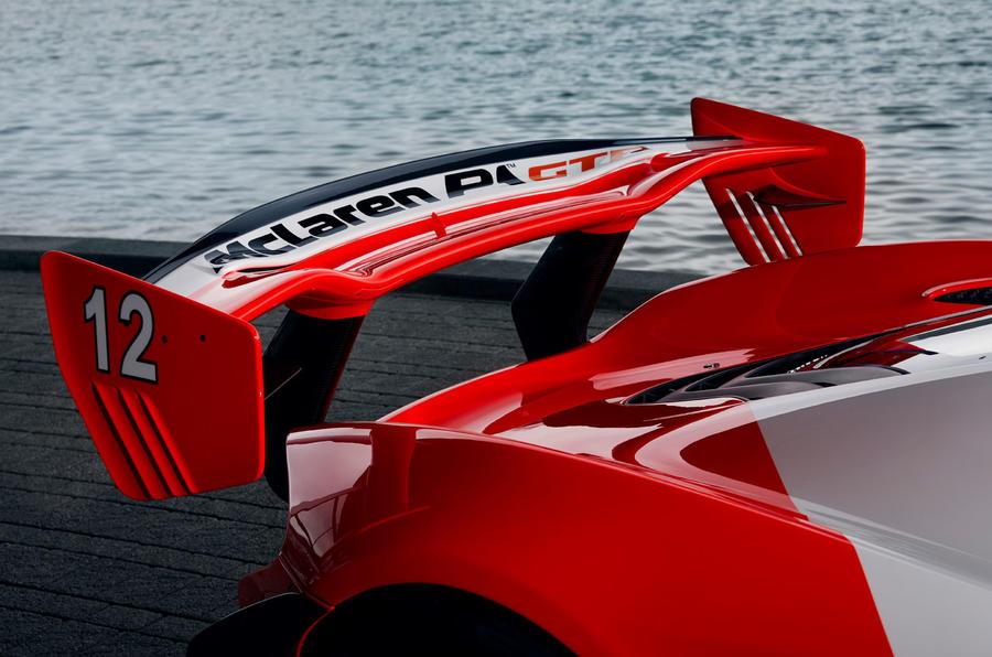 McLaren P1 GTR inspired by Senna
