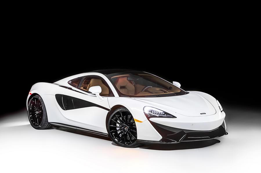 McLaren 570GT MSO Concept - electrochromic roof