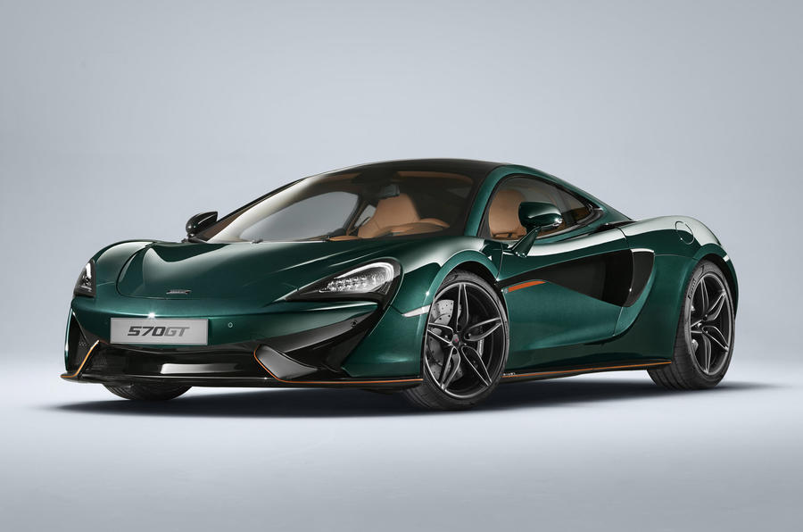 McLaren 570GT MSO Collection is just six cars long