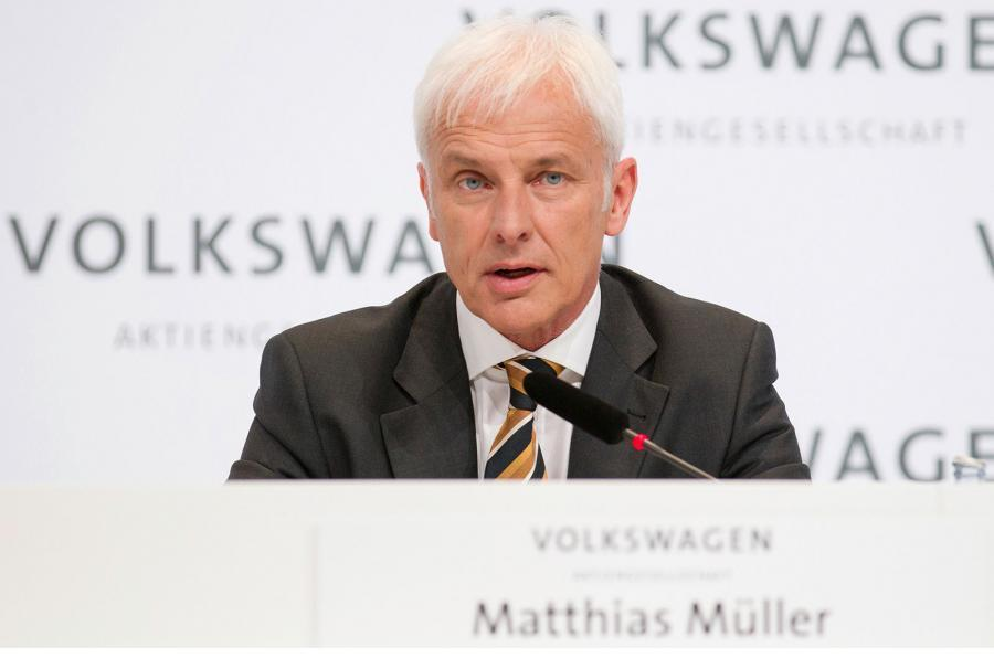 VW Group boss Matthias Muller