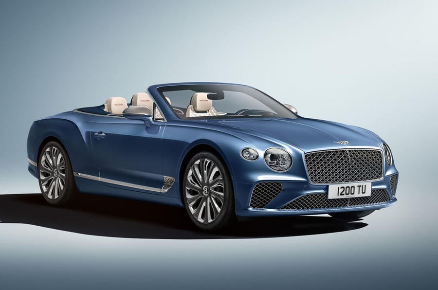 2020 Bentley Continental GT Mulliner Convertible