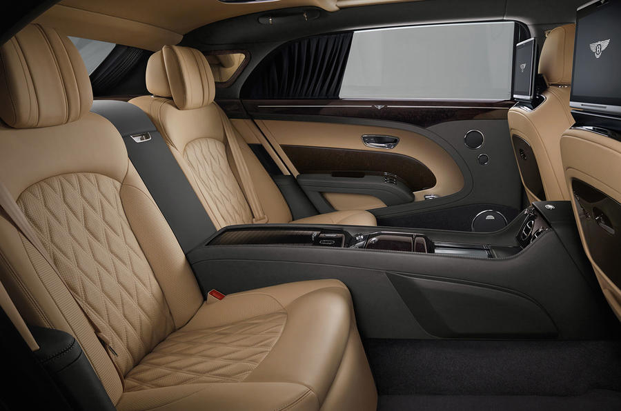 mulsanne interior. 2016 bentley mulsanne facelift interior
