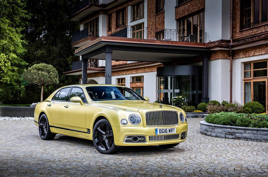 4 star Bentley Mulsanne Speed
