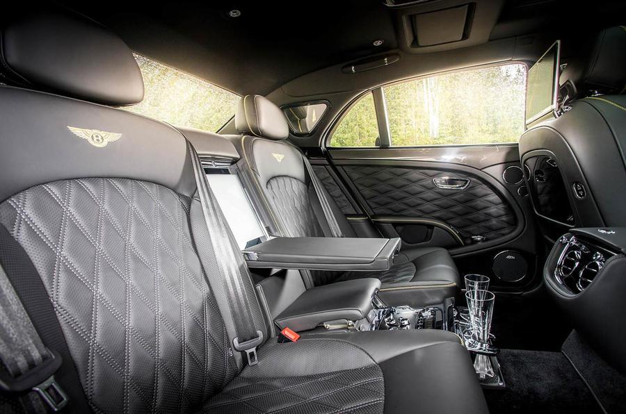 Bentley Mulsanne Speed rear cabin