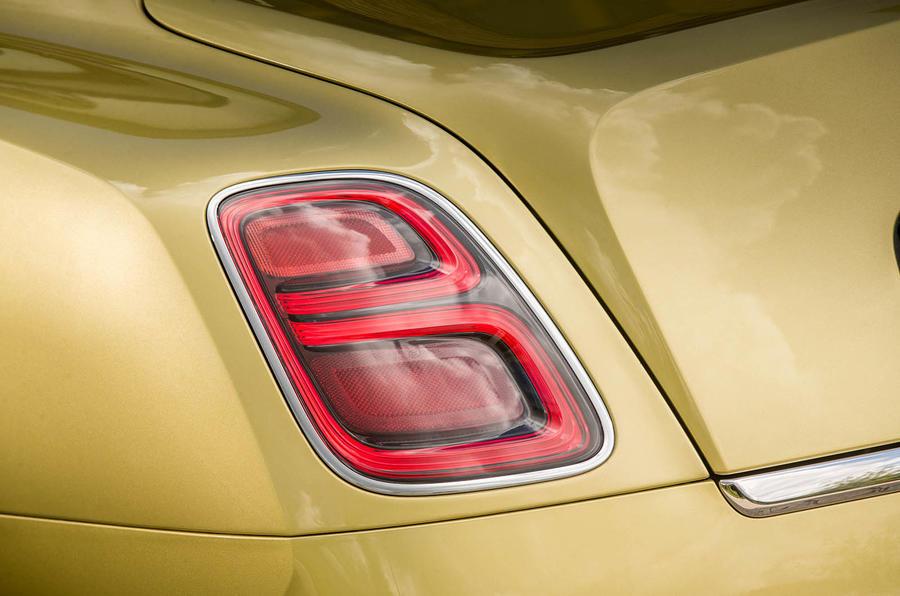 Bentley Mulsanne Speed rear lights
