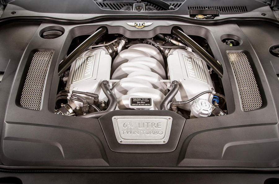 6.75-litre V8 Bentley Mulsanne Speed engine